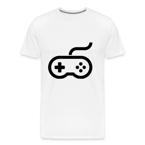 Old School Gaming Controller - Men's Premium T-Shirt