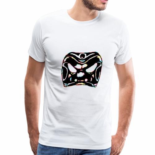 Arlechinno clipart rainbow black - Men's Premium T-Shirt