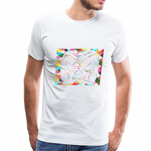 Arlecchino clipart void. with white fill - Men's Premium T-Shirt