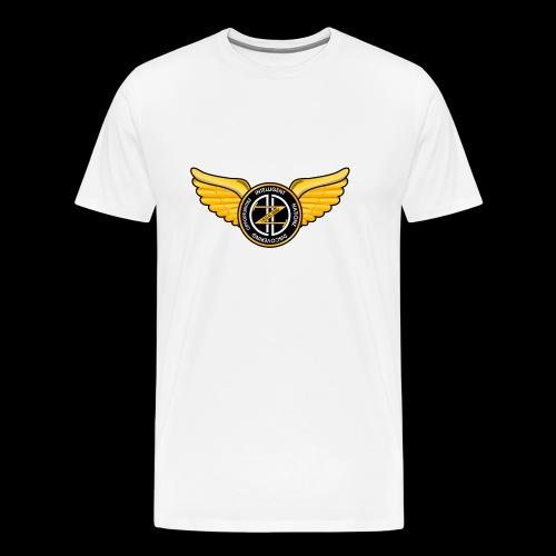 Winged Out Black/Yellow - Men's Premium T-Shirt