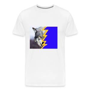 wolf 2 - Men's Premium T-Shirt