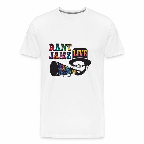 RantJamz Live! Greatest Stream Ever - Men's Premium T-Shirt