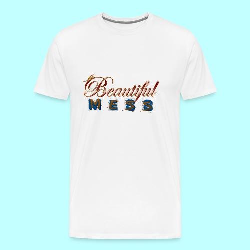 A Beautiful Mess - Men's Premium T-Shirt
