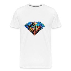 abstract diamond - Men's Premium T-Shirt