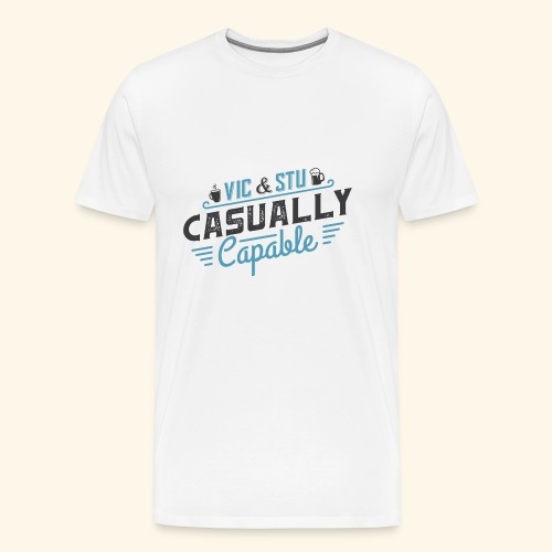 Casually Capable - Men's Premium T-Shirt