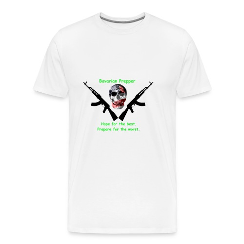 Prepper Skull - Men's Premium T-Shirt