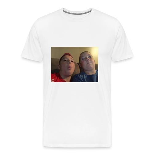 Friend and I - Men's Premium T-Shirt