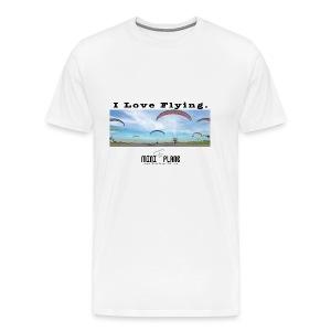 i love flying1 - Men's Premium T-Shirt