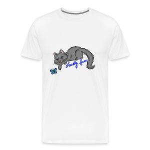 Lovely blue - Men's Premium T-Shirt