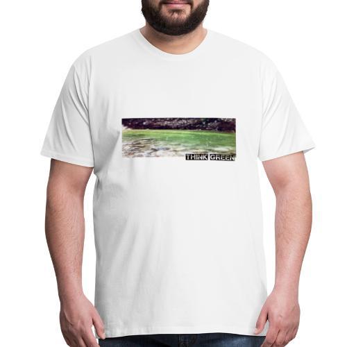 Think green - Men's Premium T-Shirt