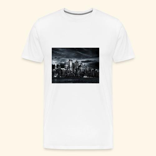 black logo 3 - Men's Premium T-Shirt