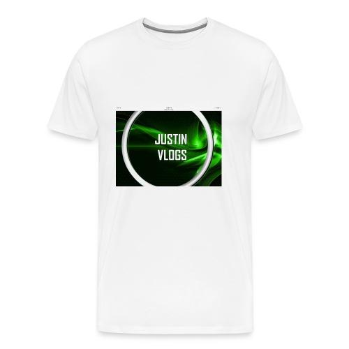 Wave green merchandise - Men's Premium T-Shirt