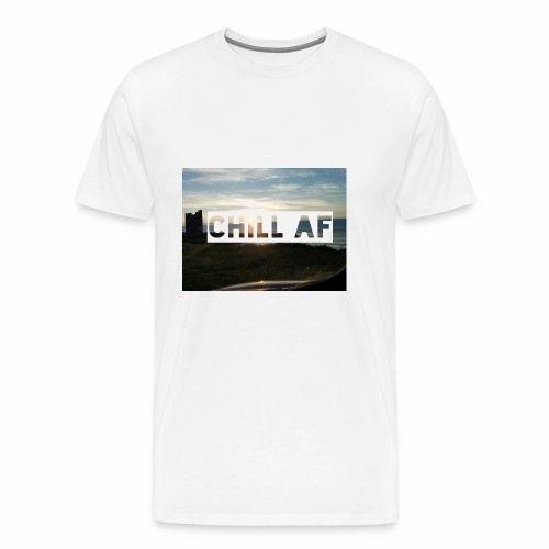 CHILL AF Castle - Men's Premium T-Shirt