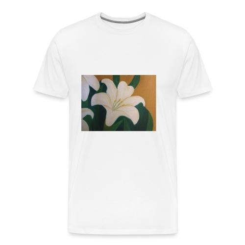 Single Flower - Men's Premium T-Shirt