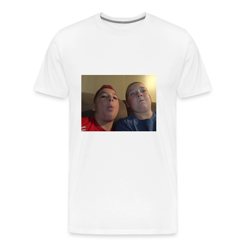 Friend and I - Men's Premium T-Shirt