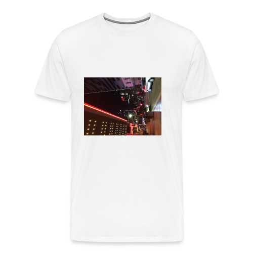 Moon Light Down Town - Men's Premium T-Shirt