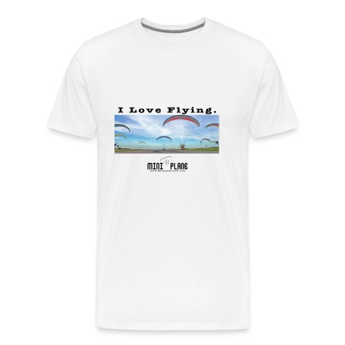i love flying1 - Men's Premium T-Shirt