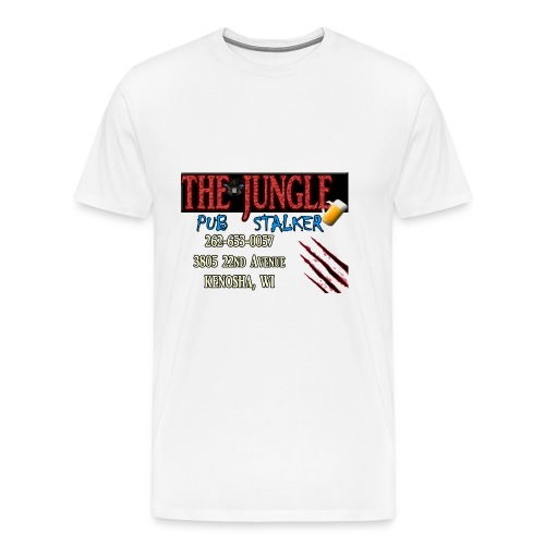 Bindelli's Jungle Pub Stalker - Men's Premium T-Shirt