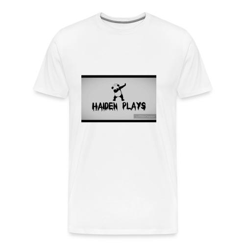 Haiden plays merch - Men's Premium T-Shirt