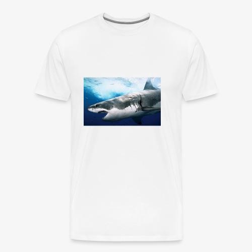 huge shark - Men's Premium T-Shirt