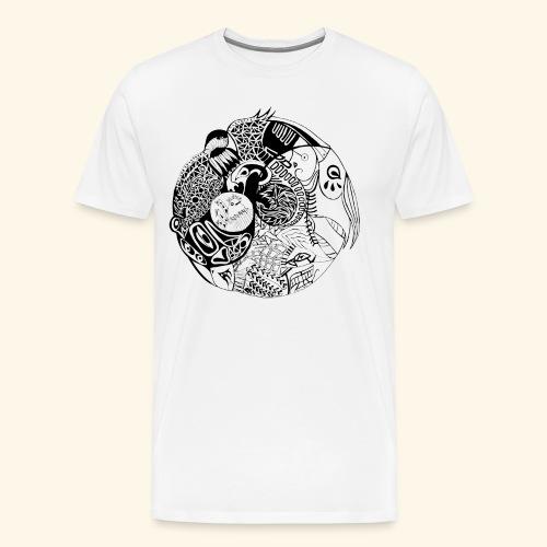 Harmonious World - Men's Premium T-Shirt