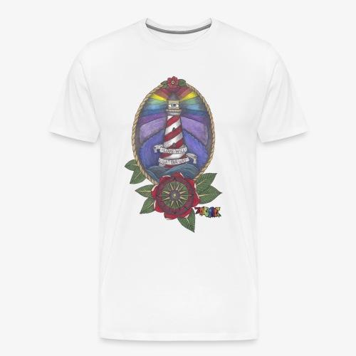 Love Will Light Your Way - Men's Premium T-Shirt