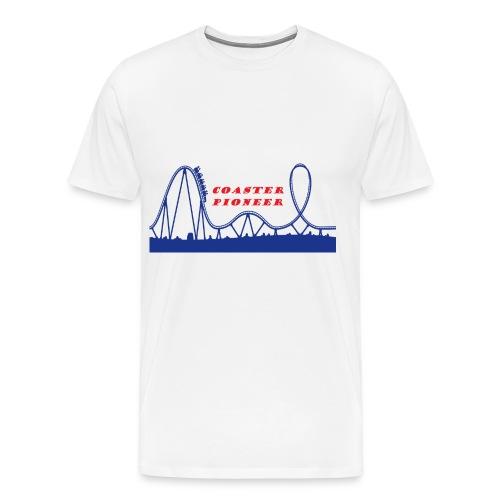 Coaster Pioneer Logo Merch - Men's Premium T-Shirt