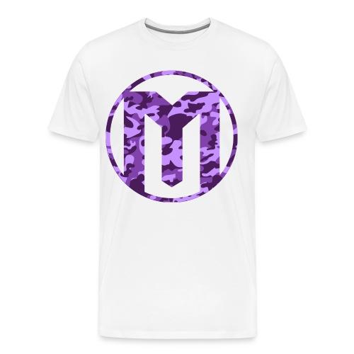 Camo MeloMash Logo Tee - Men's Premium T-Shirt