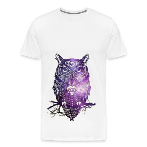 All Seeing Owl - Men's Premium T-Shirt