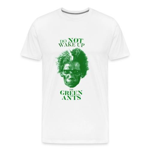 where the green ants dream - Men's Premium T-Shirt