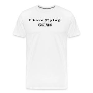 I Love Flying - Men's Premium T-Shirt