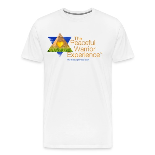 The Peaceful WarriorExperience t-shirt 2 - Men's Premium T-Shirt