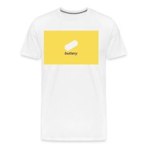 Buttery Design - Men's Premium T-Shirt