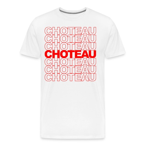 Vintage Stylized Choteau Design - Men's Premium T-Shirt