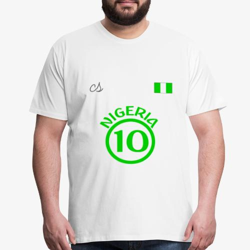 Nigerian Soccer Fan T-Shirt - Men's Premium T-Shirt