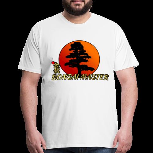 Bonsai Master Shirt Japanese Rising Sun Shirt Gift - Men's Premium T-Shirt