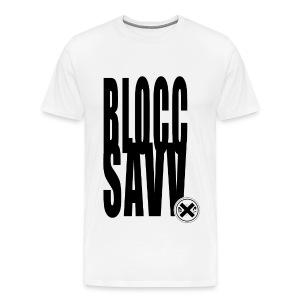 blocc savv - Men's Premium T-Shirt