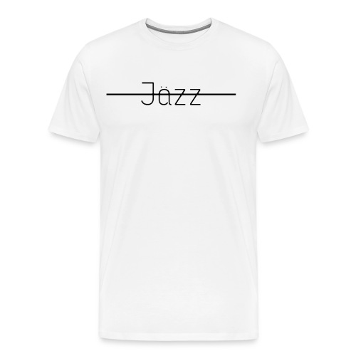 Jazz Logo - Men's Premium T-Shirt