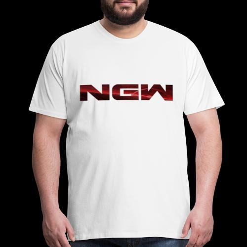 NGW Transparent Logo - Men's Premium T-Shirt