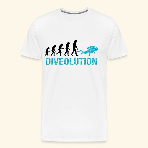 DIVEOLUTION - Men's Premium T-Shirt