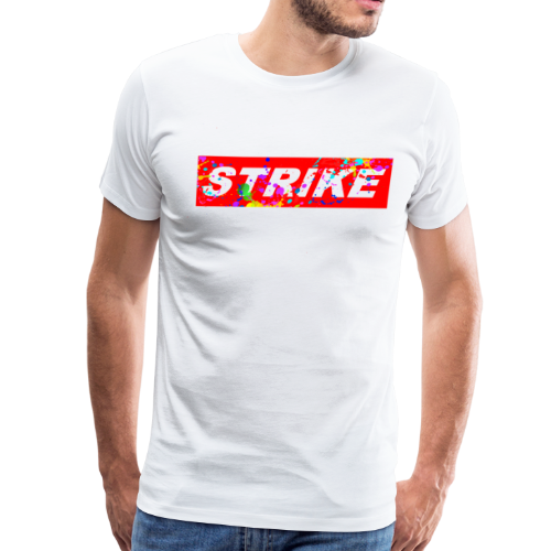STRIKE COLORSPLASH - Men's Premium T-Shirt