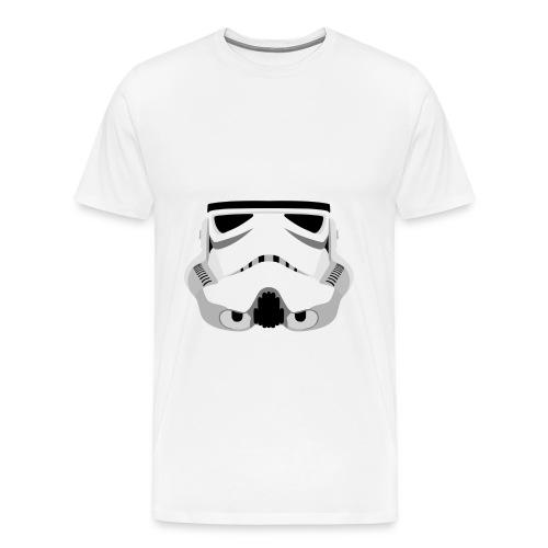 Stormtrooper Helmet - Men's Premium T-Shirt