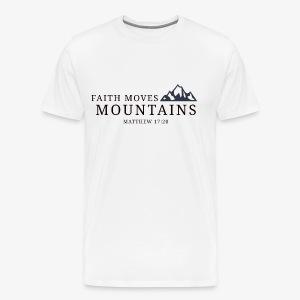 Matthew 17:20 - Men's Premium T-Shirt