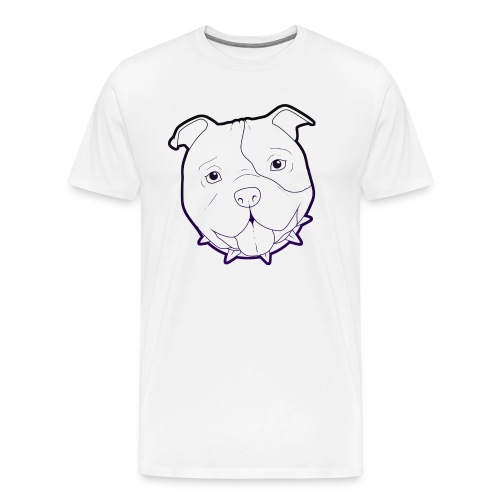 Pit Tee Outline alt. - Men's Premium T-Shirt