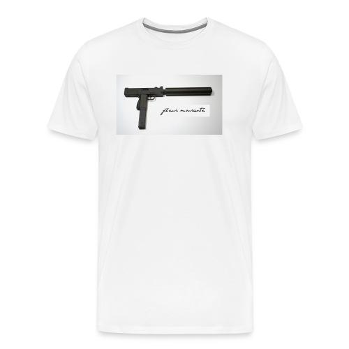 Fleur de Uzi - Men's Premium T-Shirt