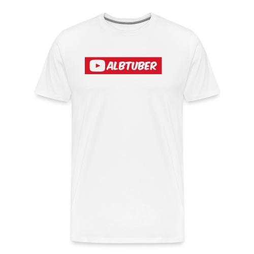 AlbTuber Logo - Men's Premium T-Shirt