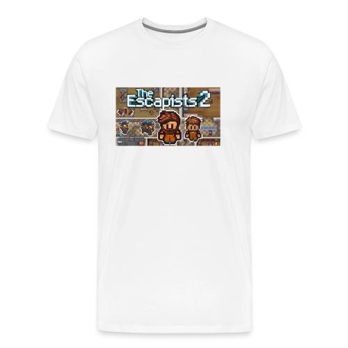 TCN escapists 2 series shirt - Men's Premium T-Shirt