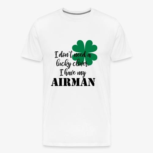 Lucky Clover Airman - Men's Premium T-Shirt