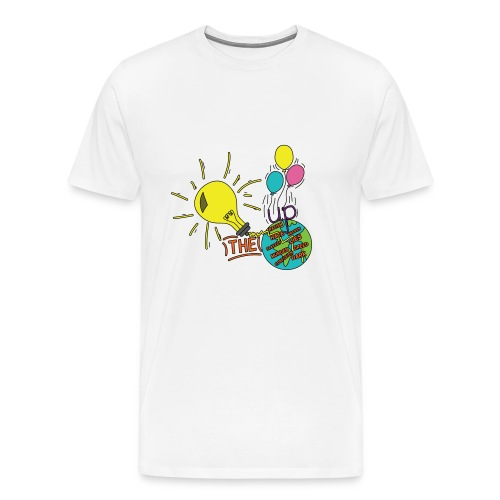 Light Up The World - Men's Premium T-Shirt