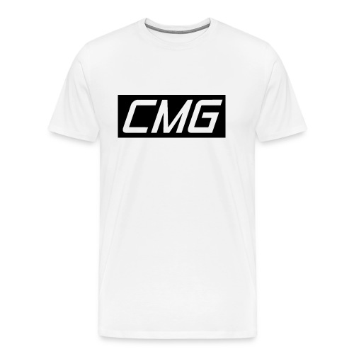 CMG Black Box Logo - Men's Premium T-Shirt